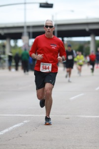Figure 1. The author running a marathon.